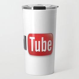 Funny Parody TrollTube Travel Mug