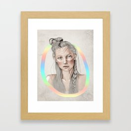 there are no rules for expression. Framed Art Print