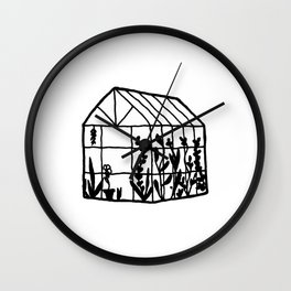 A Little House of Love Wall Clock