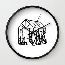 A Little House of Love Wall Clock