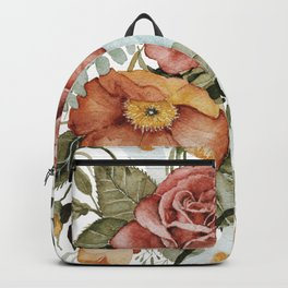 Roses and Poppies Backpack