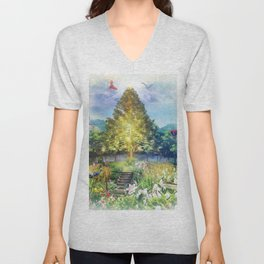 The Heart of The Forest Unisex V-Neck