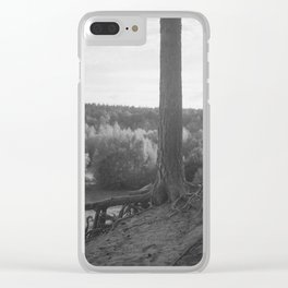 almost alone Clear iPhone Case