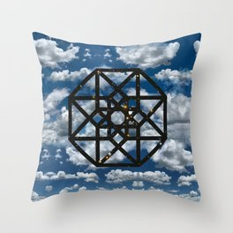 Space Between Moments Throw Pillow