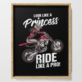 Look Like A Princess - Ride Like A Pro Serving Tray