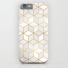 White Cubes iPhone 6 Slim Case