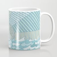sunrise Mugs featuring Sunrise by Anita Ivancenko