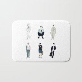 Bangtan boys Bath Mat