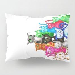 Gang of cats Pillow Sham