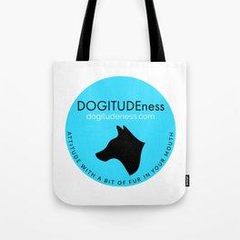 DOGITUDEness Logo Tote Bag