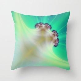 Radioactive Cauliflower Throw Pillow