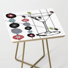 Mid-Century Modern Art Atomic Cocktail 3.0 Side Table