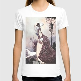 """Some Glory In Their Birth"" Fairy Art by Charles Robinson T-shirt"