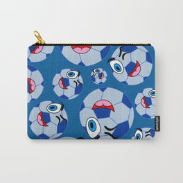 SoccerComis Blue Carry-All Pouch