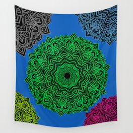 My Angel Spirit Mandhala   Secret Geometry Wall Tapestry