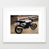 ducati Framed Art Prints featuring Ducati 006 by Austin Winchell