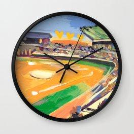 LSU Softball Wall Clock