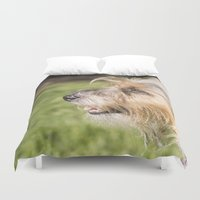 bones Duvet Covers featuring Bones by Bells Design