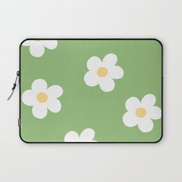 Retro 60's Flower Power Print Laptop Sleeve