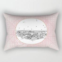 Belo Horizonte, Brazil City Skyline Rectangular Pillow