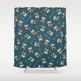 Maneki Neko Marron (Bare Version) Shower Curtain