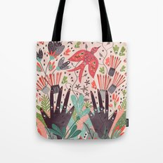 Spring Bird Tote Bag
