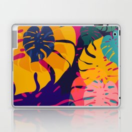 Aloha Floral Pop Art Pattern Laptop & iPad Skin