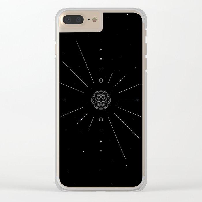 Stellar Evolution Clear iPhone Case