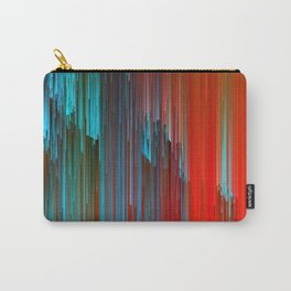 California Dreamin' - Abstract Glitch Pixel Art Carry-All Pouch