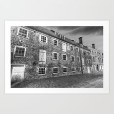 House Mill Bow London Art Print