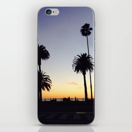 Palm Trees at Sunset iPhone Skin