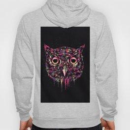 Colored Owl Hoody