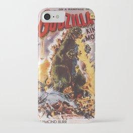 Godzilla rampage iPhone Case
