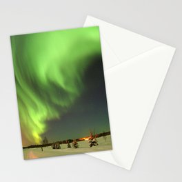 Aurora Borealis or Northern Lights - Alaska Stationery Cards