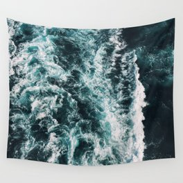 Green Seas, Yes Please Wall Tapestry