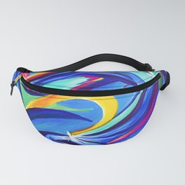 Reiki Abstract Fanny Pack