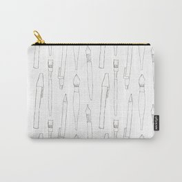 A pencil and a dream... white! Carry-All Pouch