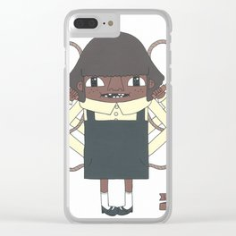 Hop, skip and jump Clear iPhone Case