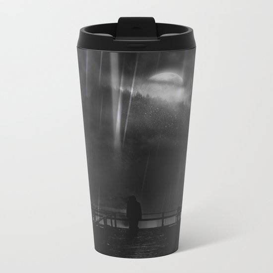A promise is a promise Metal Travel Mug