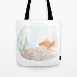 Grumpy Goldfish Tote Bag