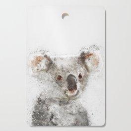 Koala Watercolor Cutting Board