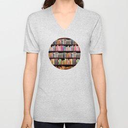 Vintage books ft Jane Austen & more Unisex V-Neck