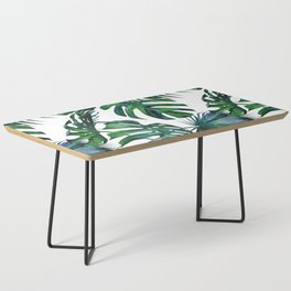 Tropical Palm Leaves Classic Coffee Table