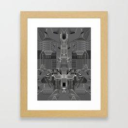 post organic Framed Art Print