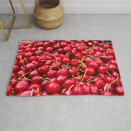 Red Cherries Rug