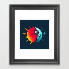 Solis et Lunae Framed Art Print