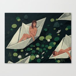 Travelers Canvas Print