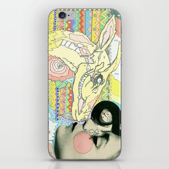 luv el chivo, la cabra  iPhone & iPod Skin