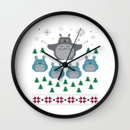 Studio Ghibli christmas Wall Clock