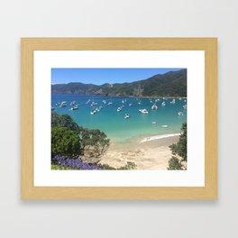 Put Your Anchor Down Framed Art Print
